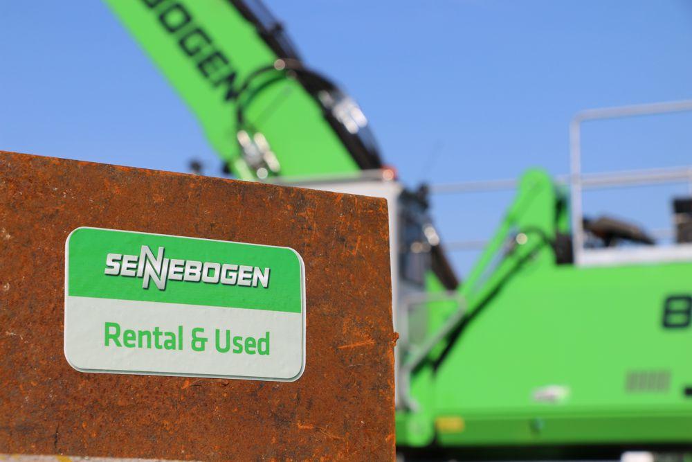 SENNEBOGEN expands into rental market with launch of SENNEBOGEN Vertriebs GmbH & Co KG