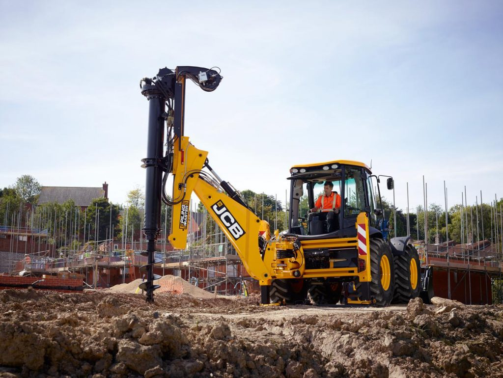 JCB breaks new ground with the JCB Pilingmaster ground engineering solution