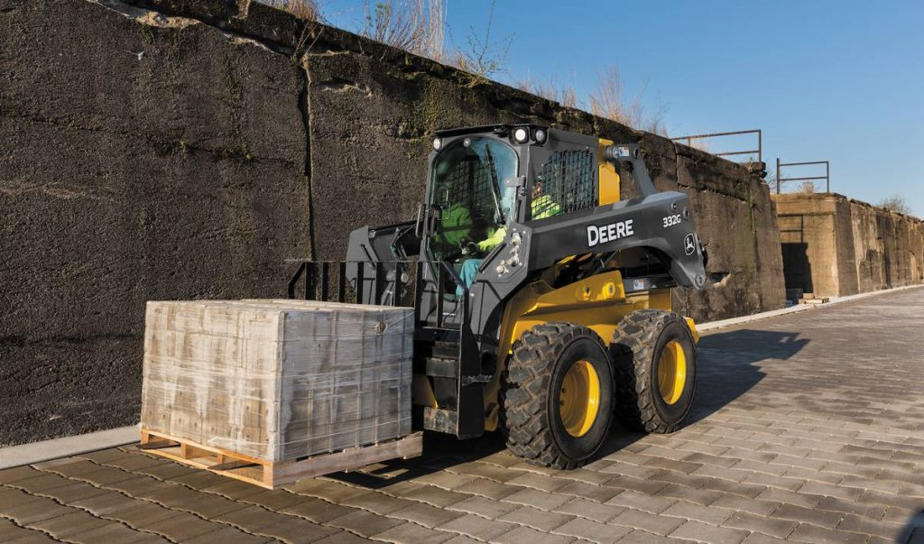 New John Deere severe-duty forklifts tackle heavy lifting