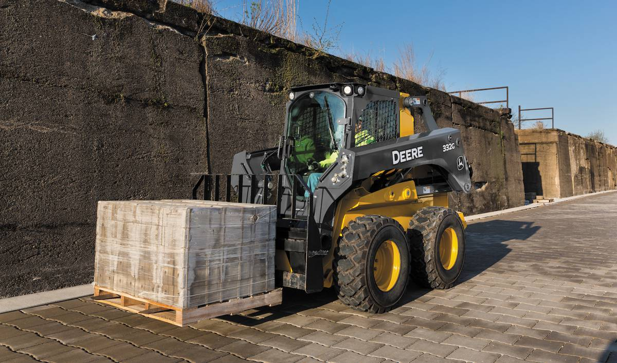 New John Deere severe duty forklifts tackle heavy lifting