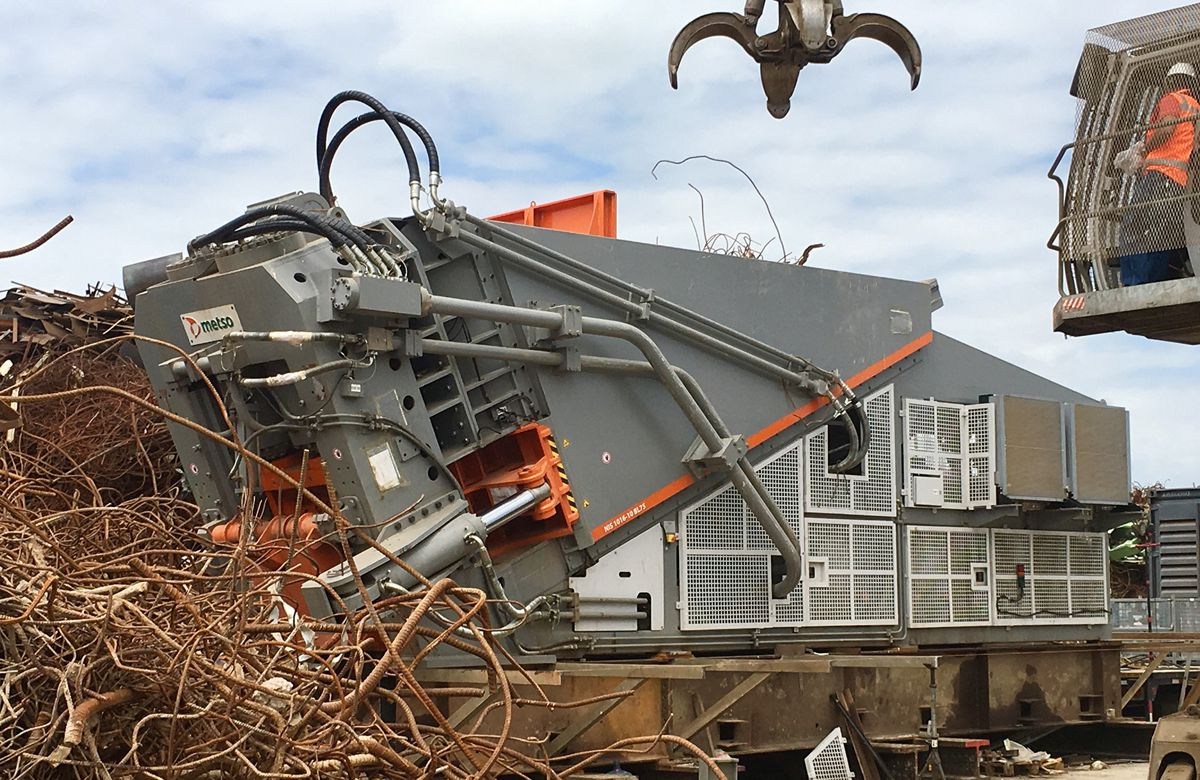 Metso awarded American Metal Market's Scrap Equipment Provider of the Year