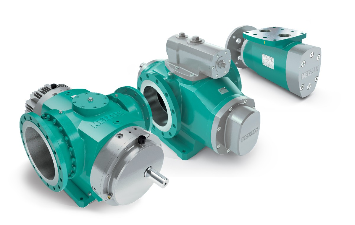 NETZSCH announces NOTOS™ Multiple Screw Pump for asphalt applications