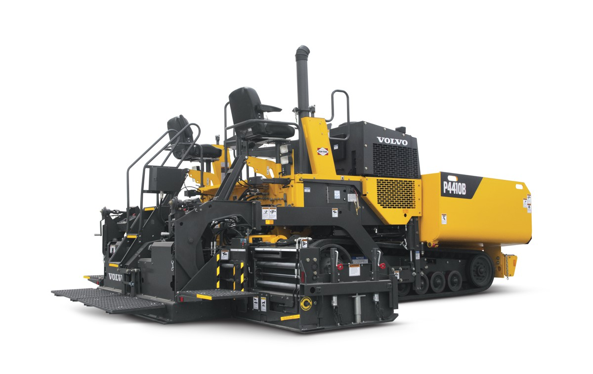 Volvo introduces the compact, fully featured P4410B asphalt paver
