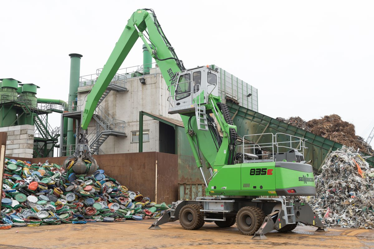 Van Dalen Metals Recycling upgrades with SENNEBOGEN equipment and technology