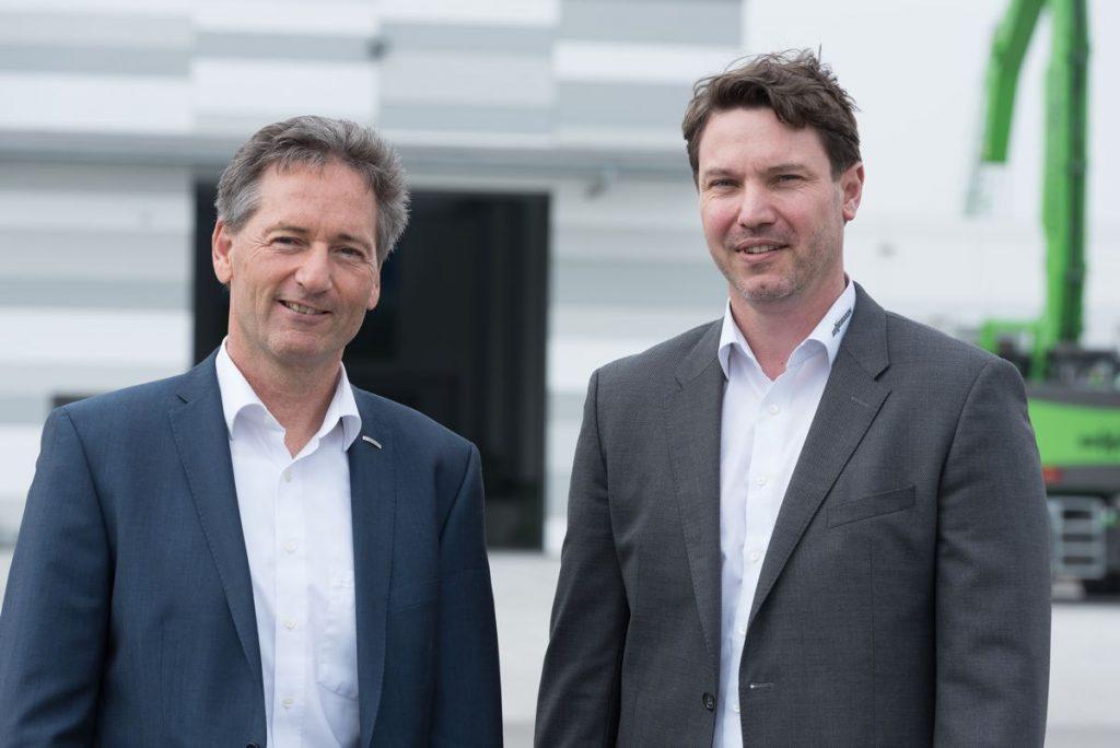 Directors, Dr Andreas Maurer and Alfred Endl.
