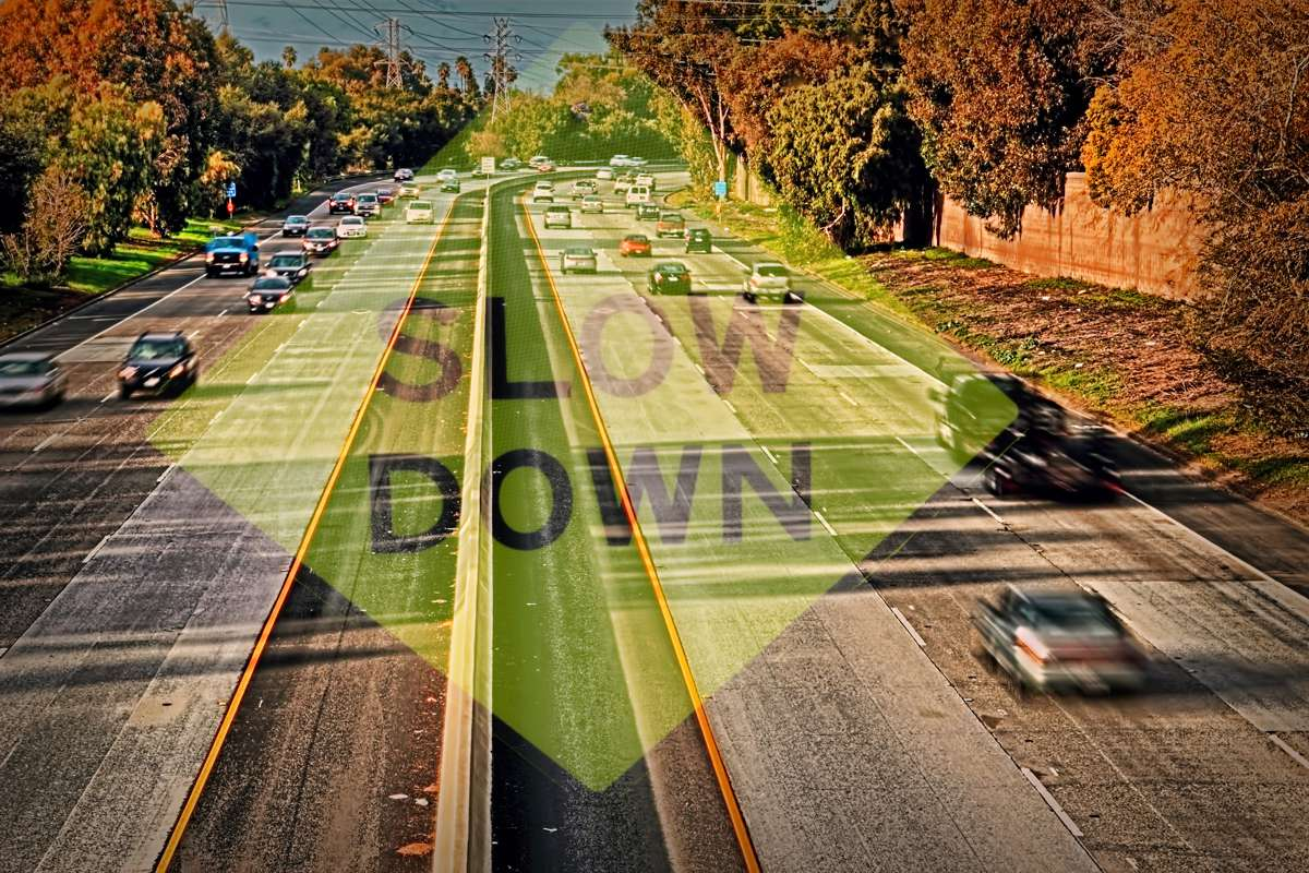 Calming the bumpy road to speed compliance