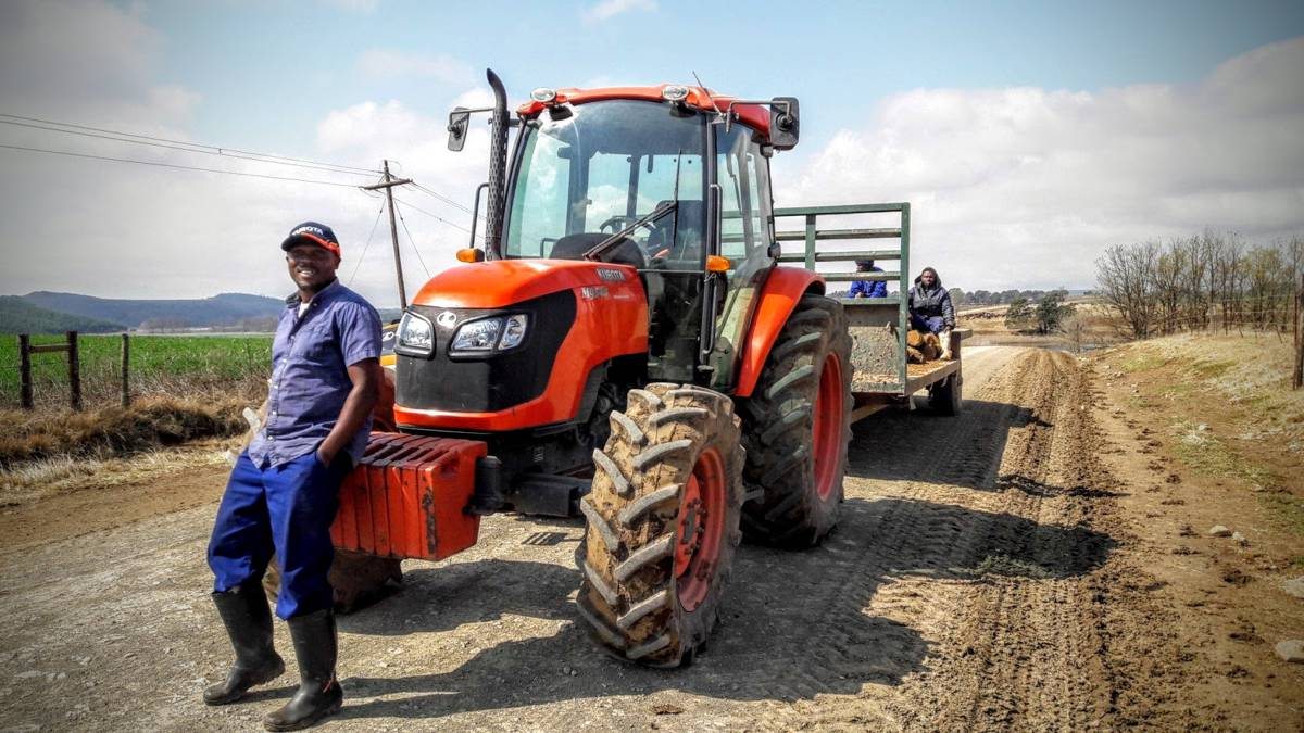KZN dairy farm in KwaZulu reaps the rewards of a Kubota tractor