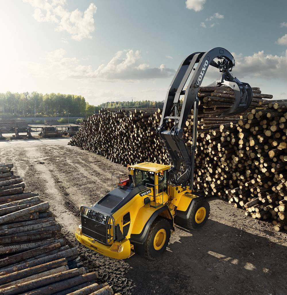 Volvo Construction Equipment helping to shape the future at Elmia Wood