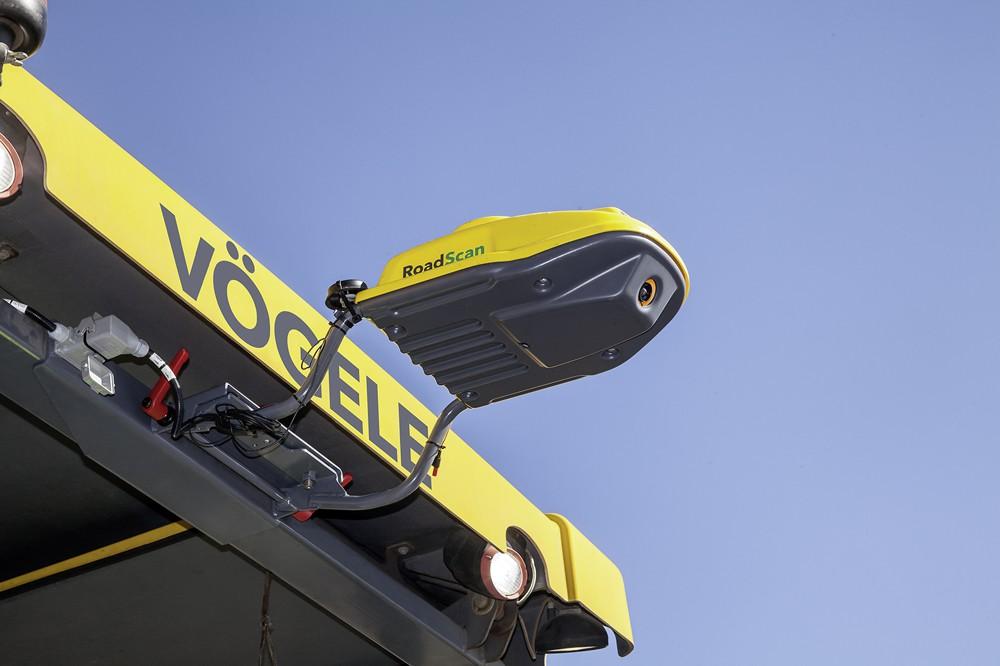 VÖGELE RoadScan, the non-contacting temperature measurement system, makes paving quality verifiable.