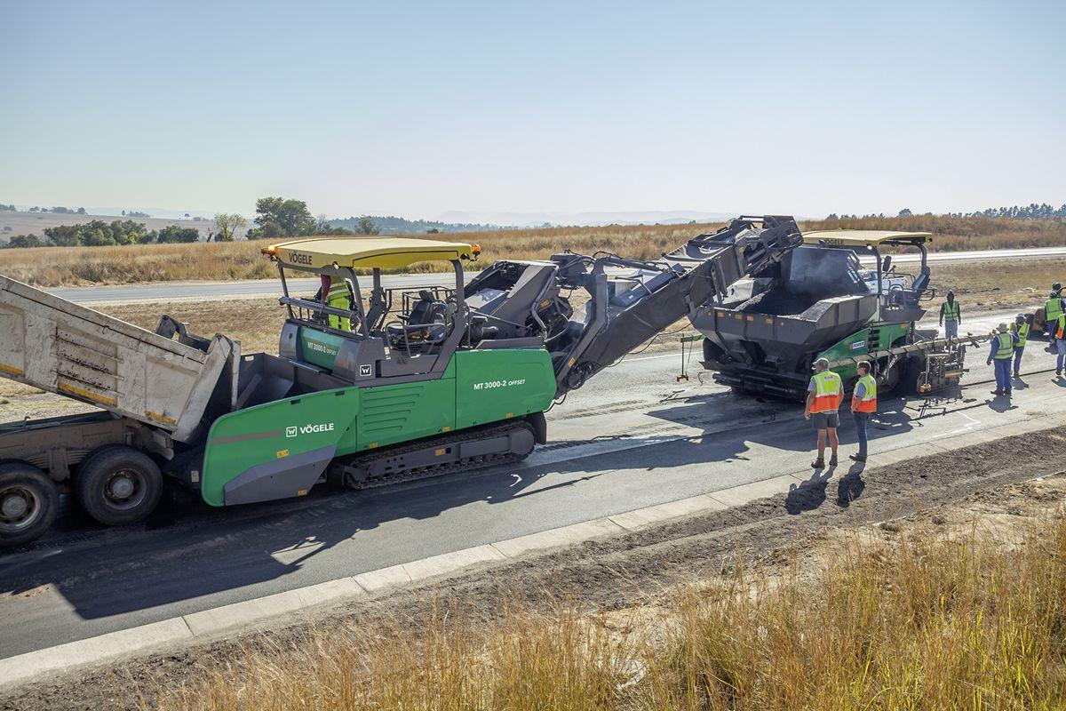 University of Twente studies enhanced paving quality delivered by Vögele's Asphalt PowerFeeder in South Africa