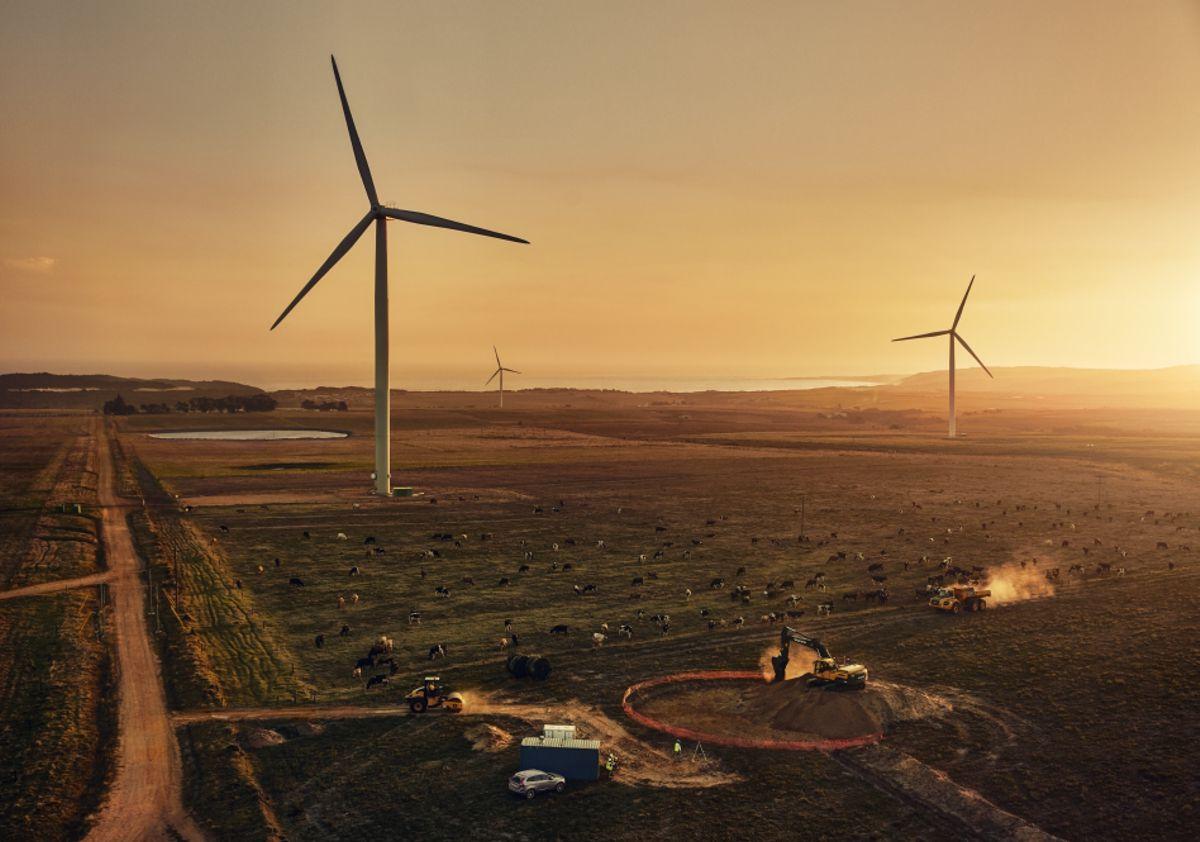 Volvo CE's Building Tomorrow focuses on renewable energy
