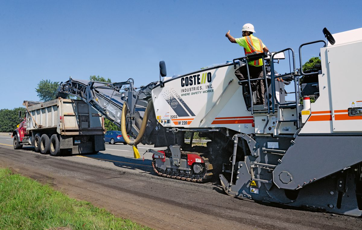 USA milling contractor Costello Industries relies on Wirtgen recyclers