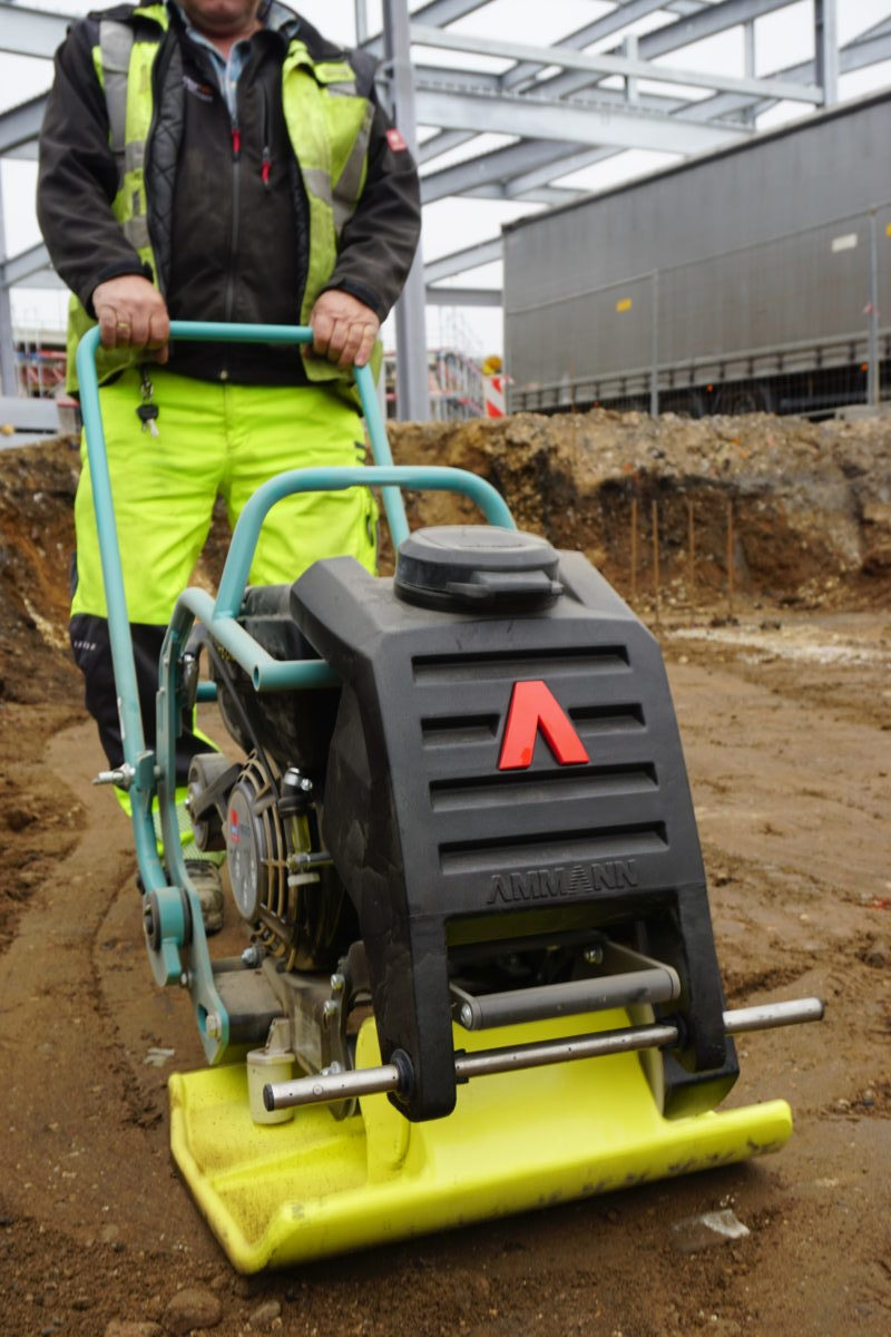 Ammann unveils forward-moving Vibratory Plates