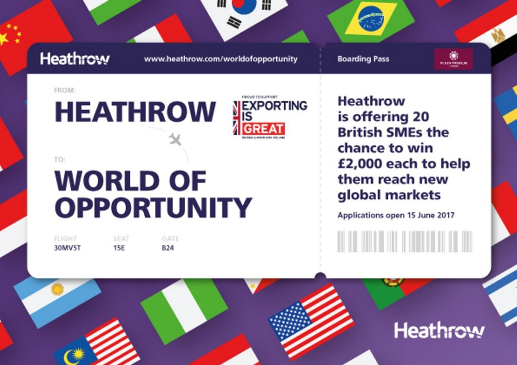 Heathrow Airport helps SMEs take off into a World of Opportunity