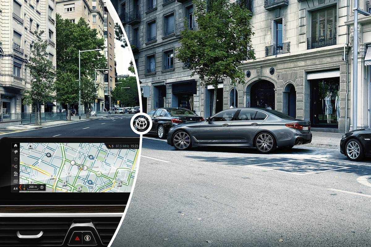 INRIX powers the first on-street parking service in a connected car