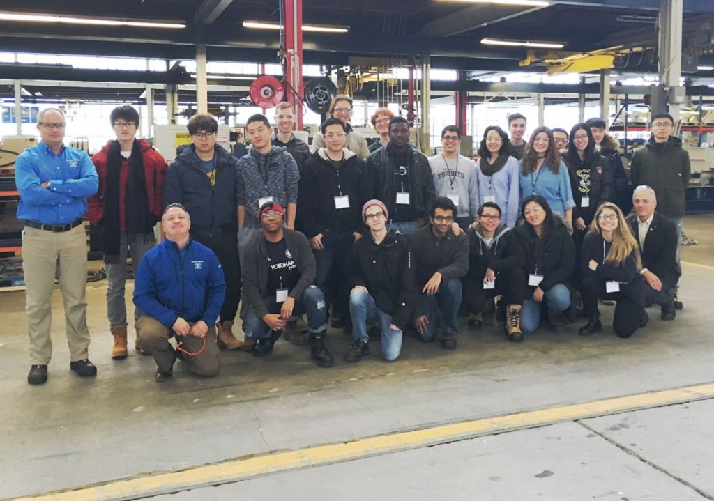University of Toronto minerals students tour Haver & Boecker Canada's facility to learn firsthand about vibrating screens and vibration analysis technology.