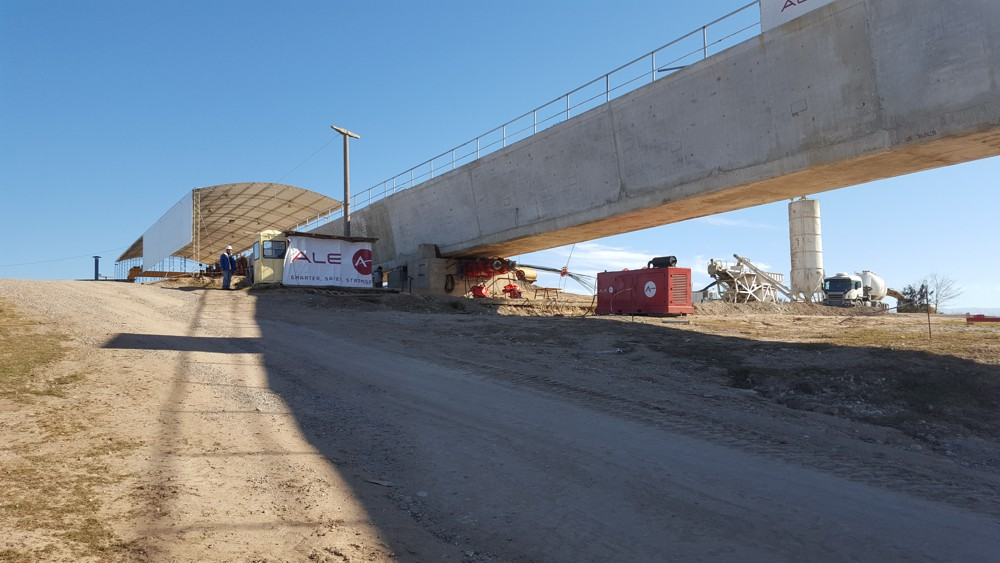 ALE COMPLETES INCREMENTAL AQUEDUCT LAUNCH IN ARGENTINA