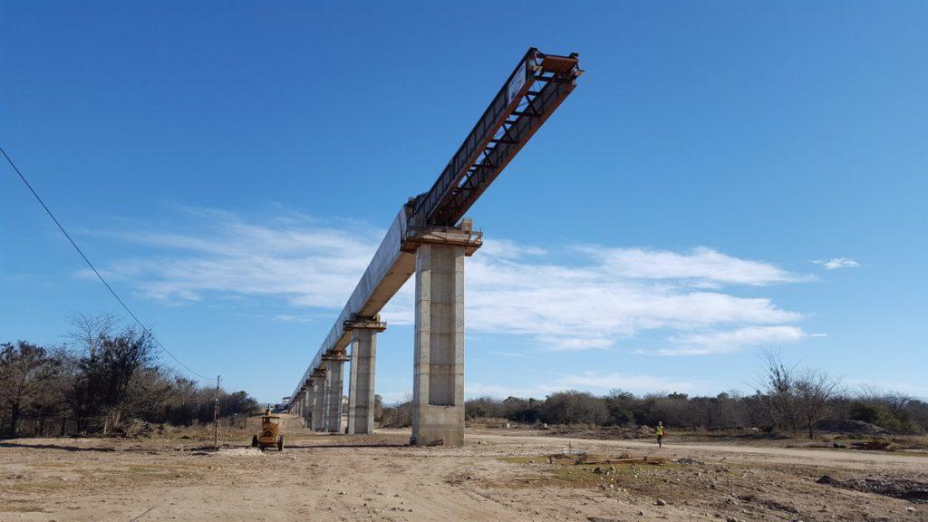 ALE completes concrete Aqueduct launch in Córdoba, Argentina