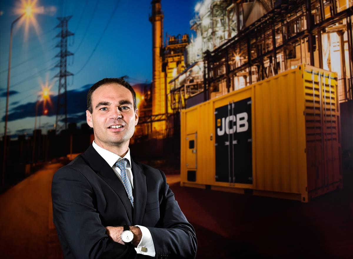 """JCB Power Products MD Jonathan Garnham ...""""this contract is another huge endorsement of the expertise and experience of the installation at JCB Broadcrown."""""""