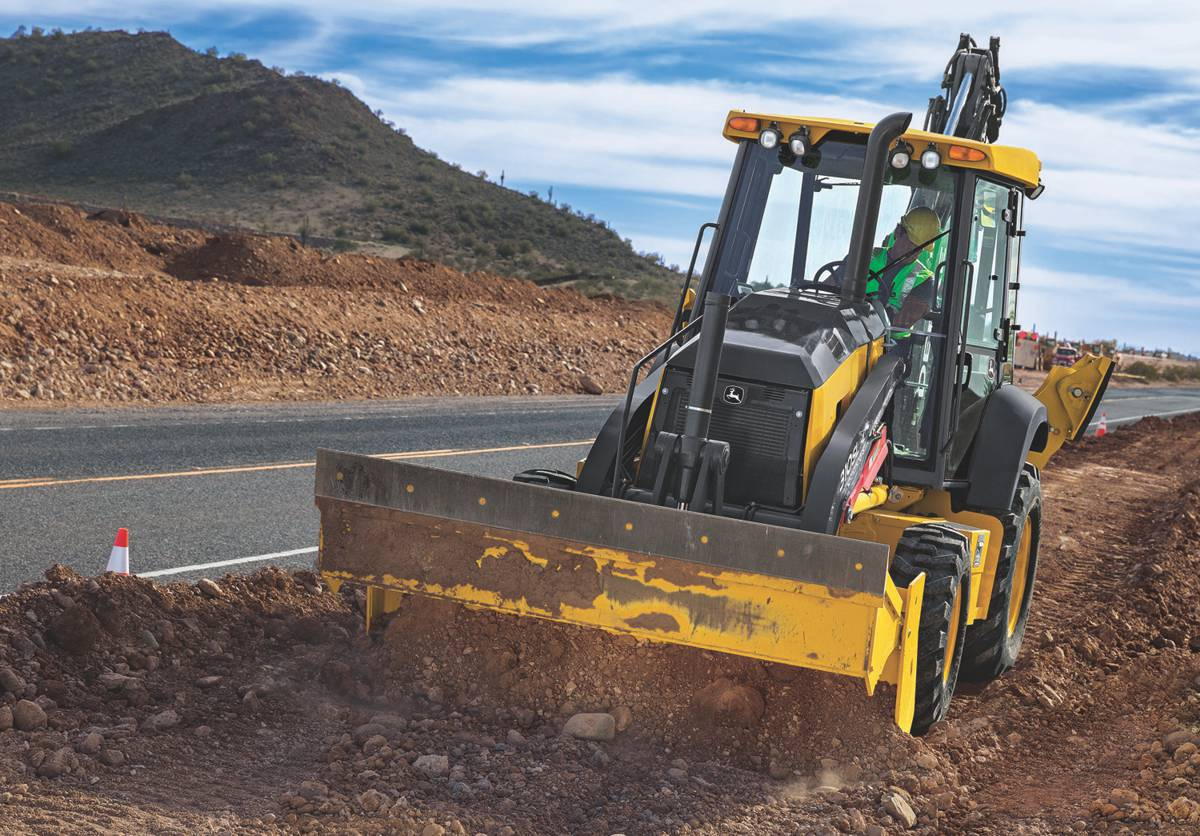 John Deere updates its popular L-Series Backhoe to simplify and enhance operation