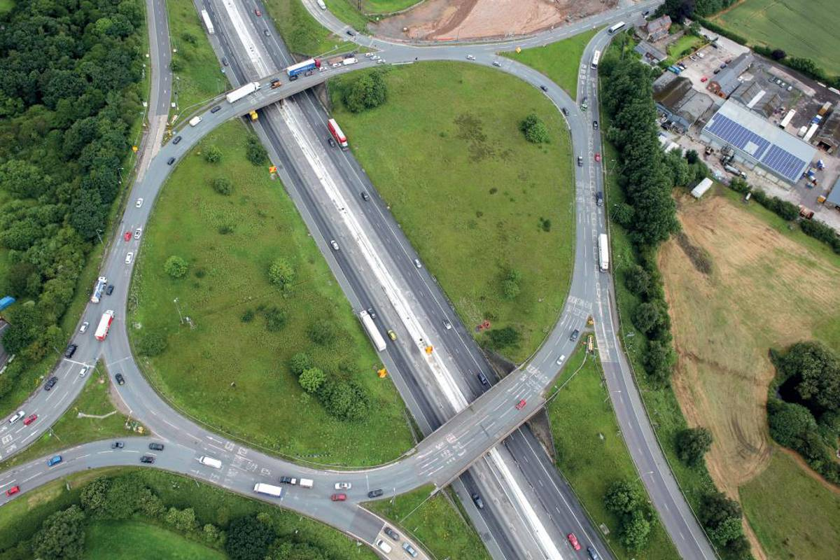 M6 Knutsford Roundabout Upgrade