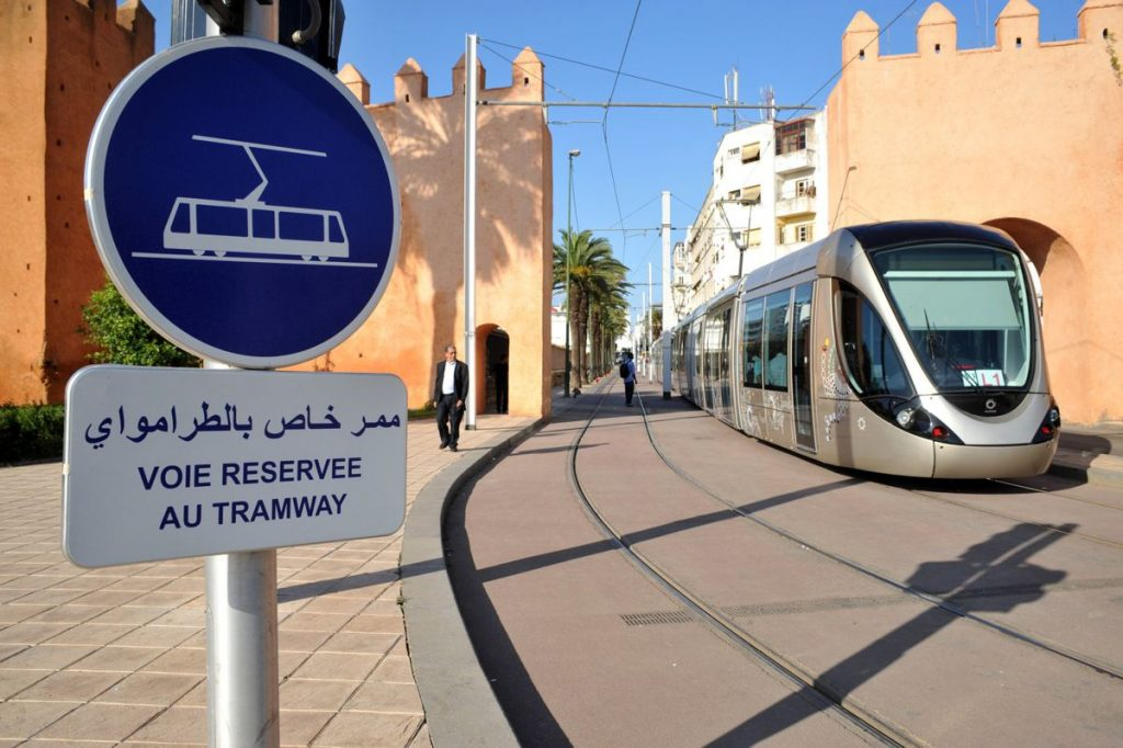 Morocco Tramway