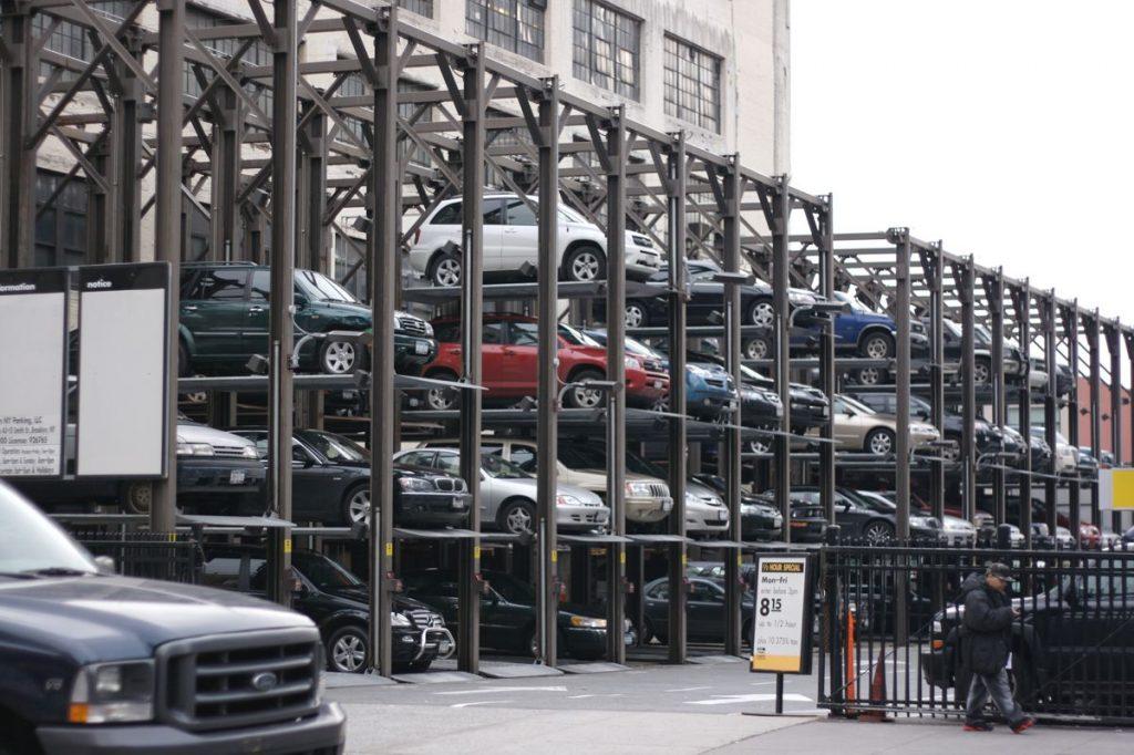 Multi Level Car Park - Photo by Marcin Wichary