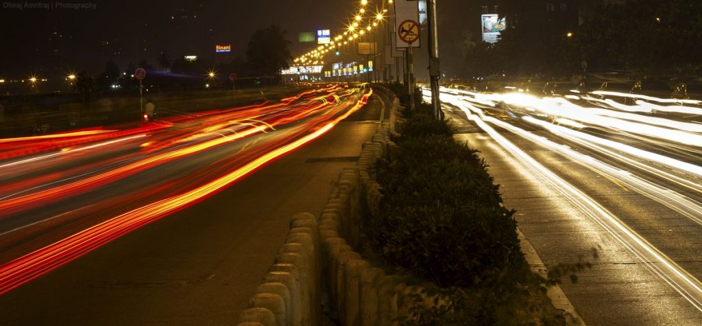 Night Driving photo by Dhirij Amritaj
