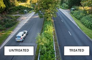 RHiNOPHALT treated roads will last longer, look better and keep maintenance to a minimum.