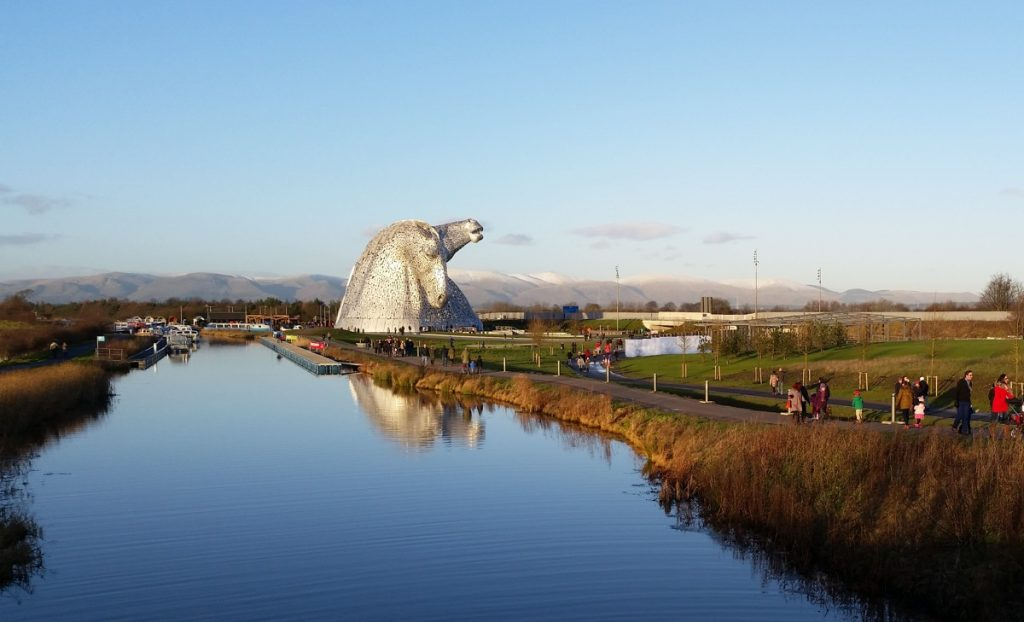 The Kelpies, Falkirk - Photo by Michel Curi
