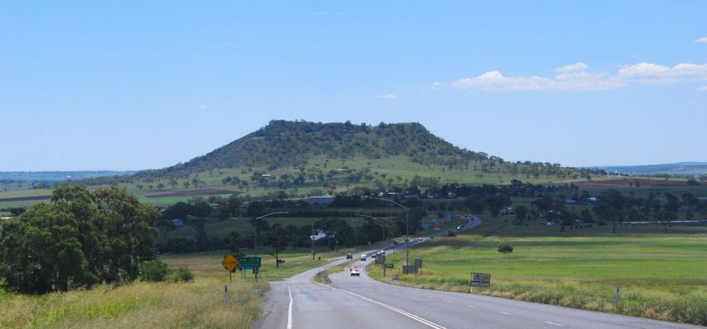 Warrego Highway Gowrie Mountain - Photo by Rob Deutcher