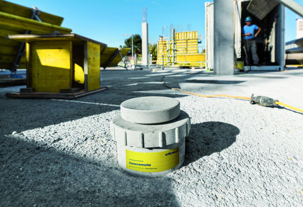 "Doka's Concremote concrete sensor technology crowned ""Commercial Innovation of the year"""