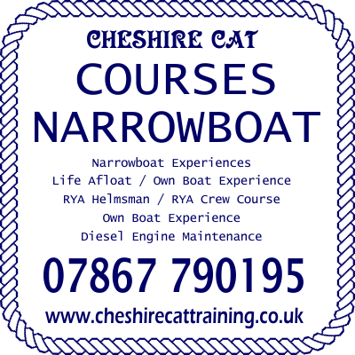 Cheshire Cat Narrowboat Training Courses