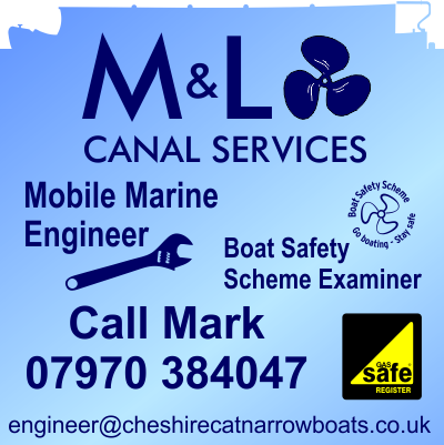 M and L Canal Services - Mobile Marine Engineer and Boat Safety Examiner