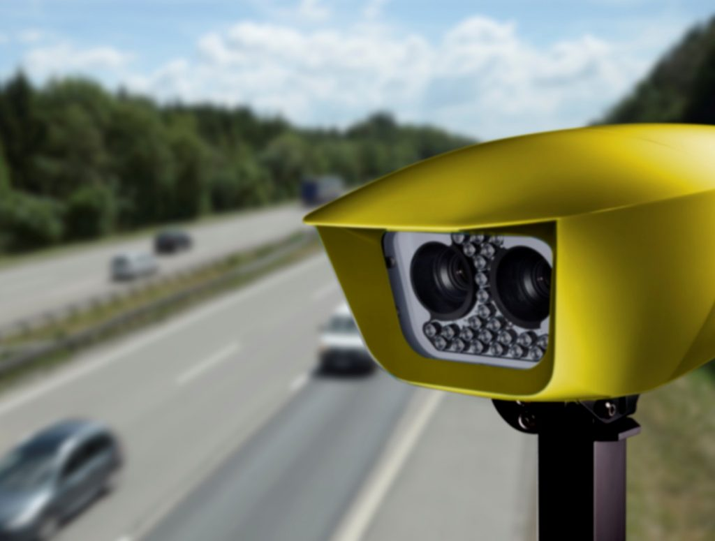SafeZone permanent average Speed Enforcement System deployed across London