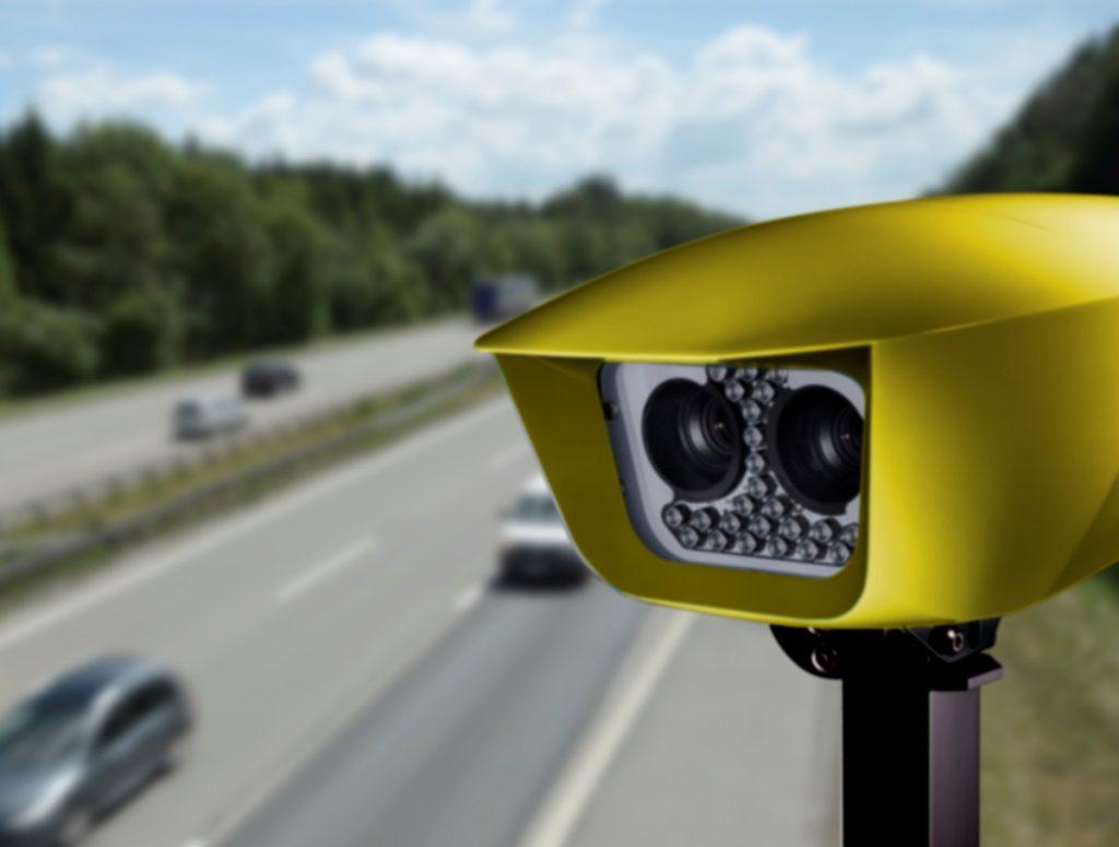 SafeZone permanent average Speed Enforcement System deployed across London
