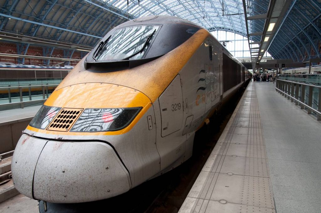 Eurostar at St_Pancras - Photo by Joshua Veitch-Michaelis