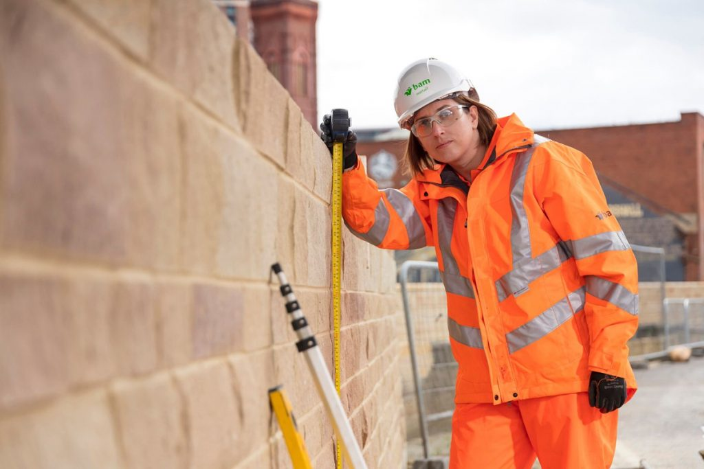BAM Nuttall helps to shape the future of women's construction clothing