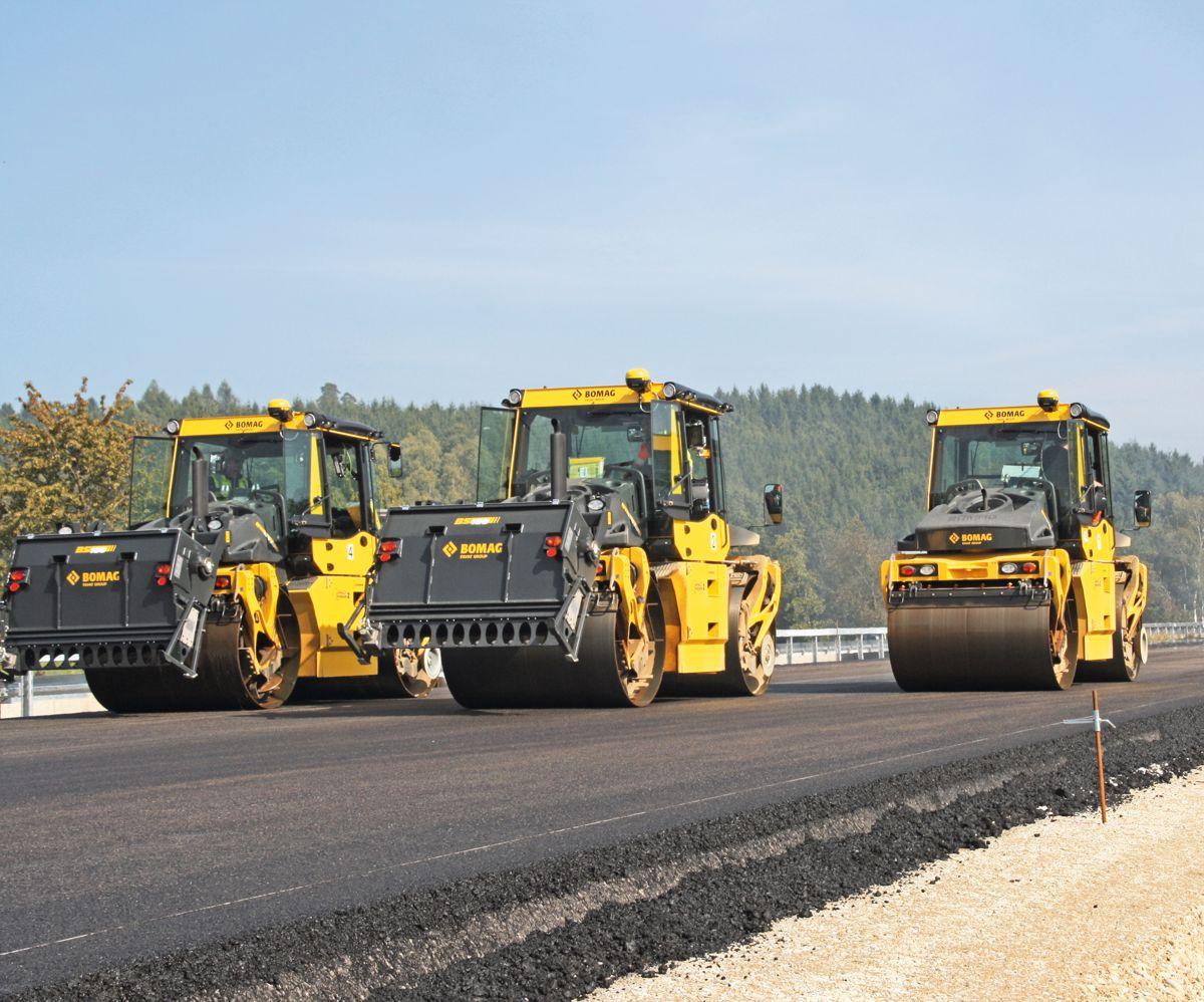 Bomag promotes digitalisation in road construction
