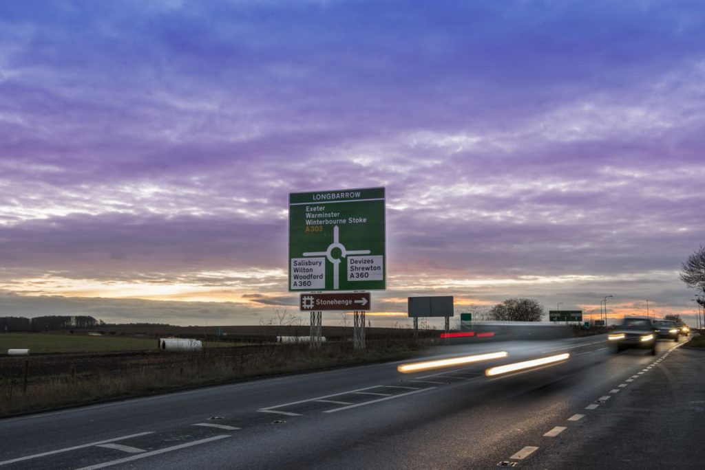 A303 Stonehenge - Photo by Hghways England