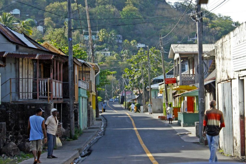 Dominica Village Photo by Alexandra Stevenson