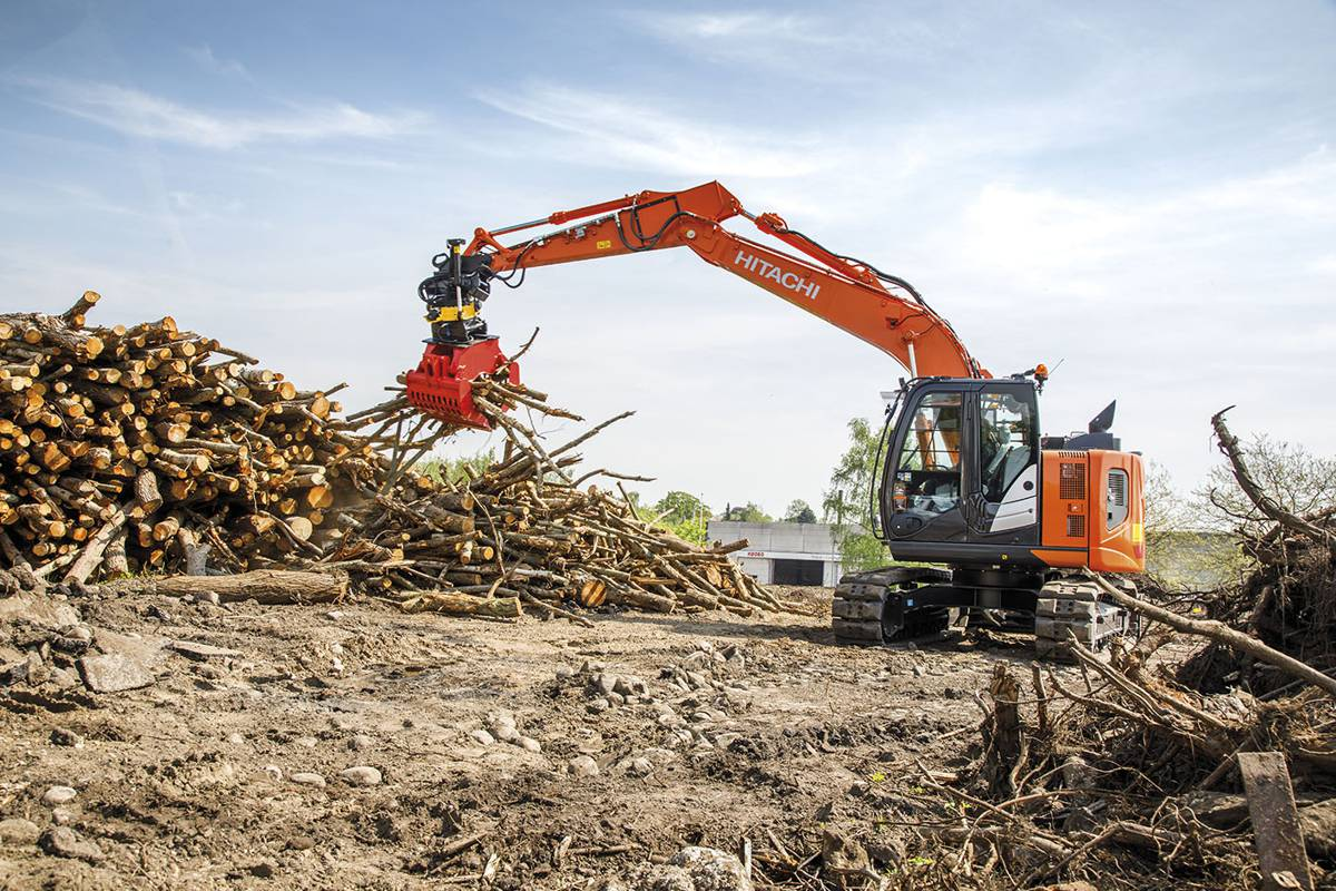 Hitachi excavators make their mark in Denmark