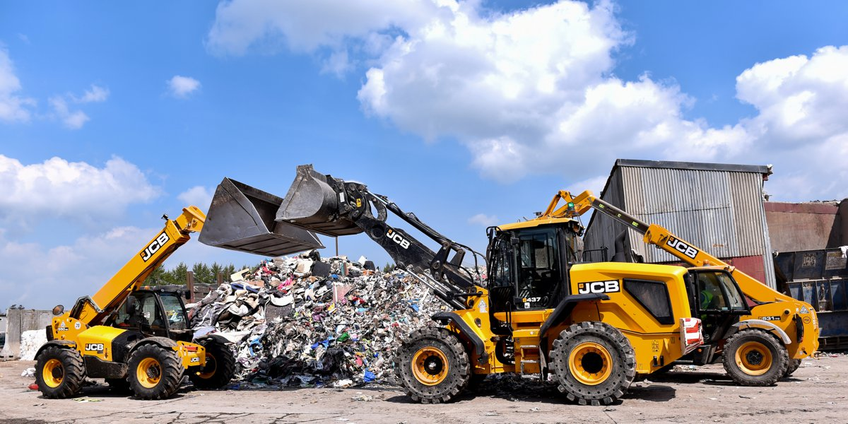 Northern Ireland's leading waste management company keeps productive with expanding JCB Fleet