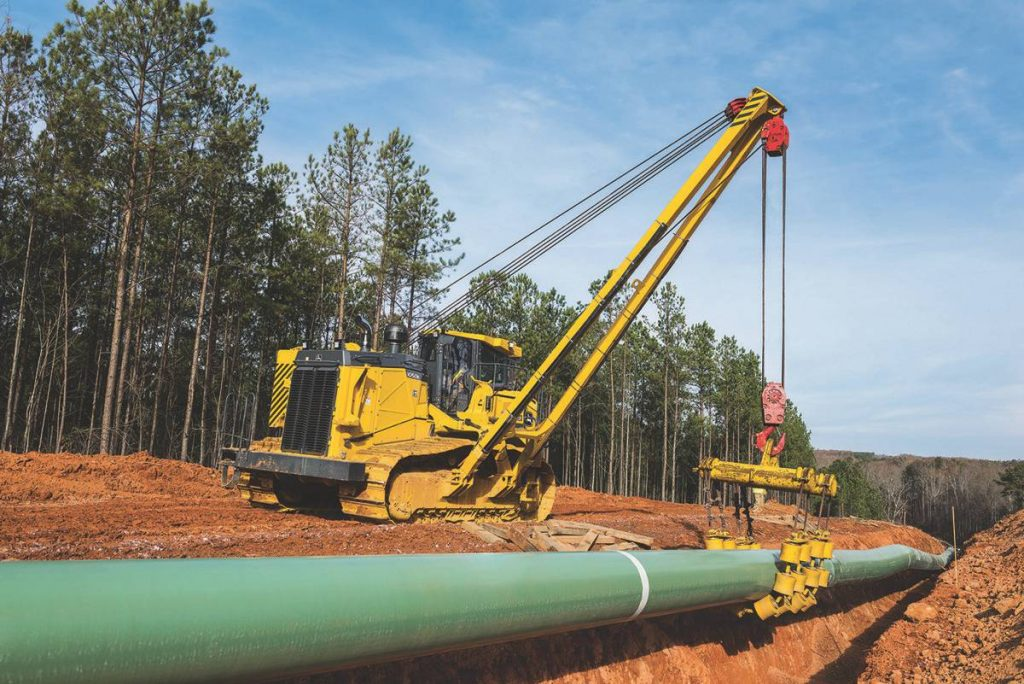 John Deere 1050K Pipelayer