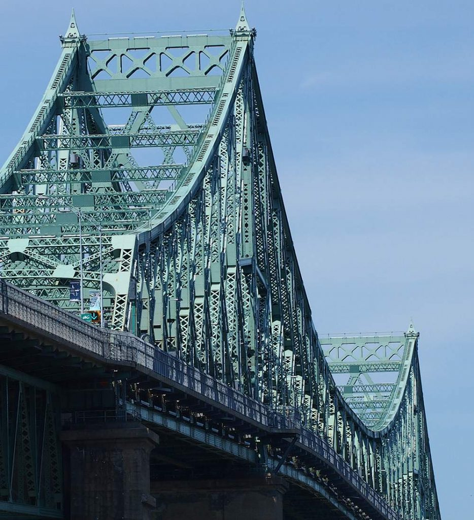 Jacques Cartier Bridge in Montreal, Canada