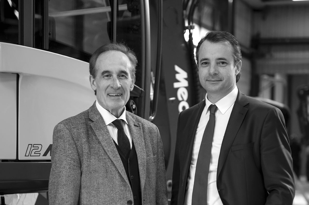 Interview with Henri Marchetta, Chairman and Founder of the MECALAC Group and his son, Vice-Chairman Alexandre Marchetta