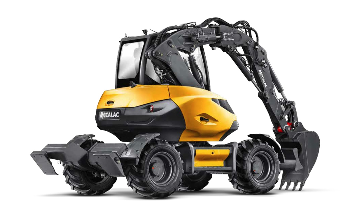 New Mecalac MWR Excavators deliver a practical solution with a revolutionary design