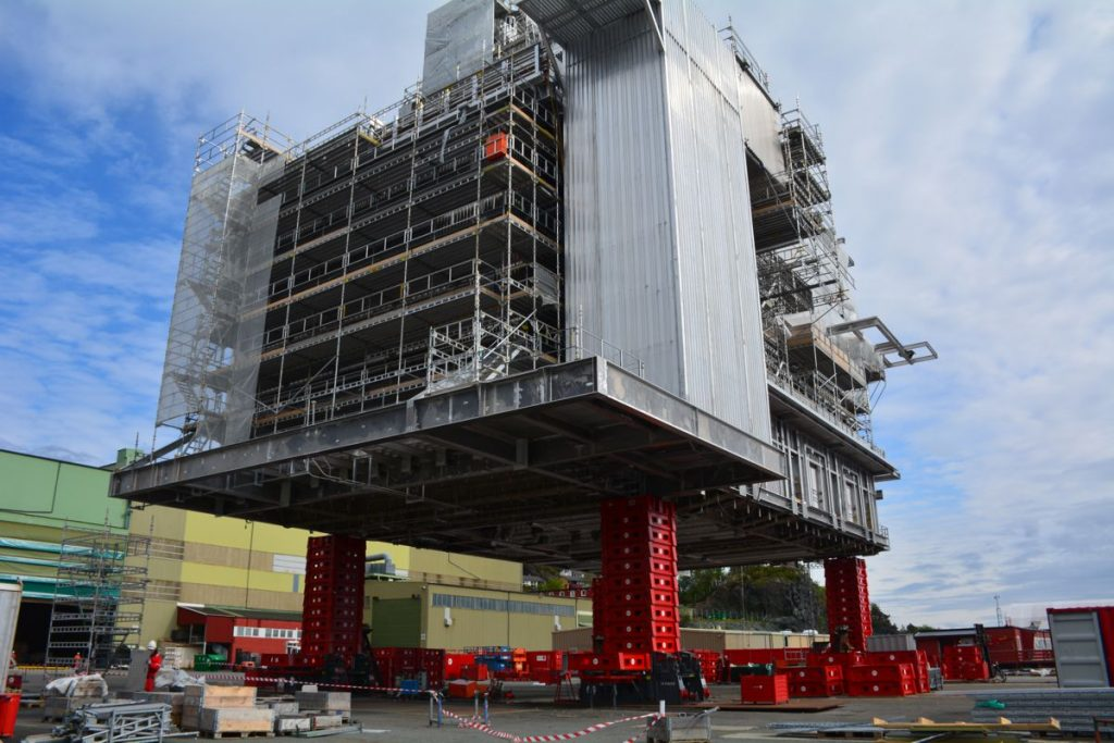 ALE builds second 800 tonne MEGA JACK 800 to meet demand