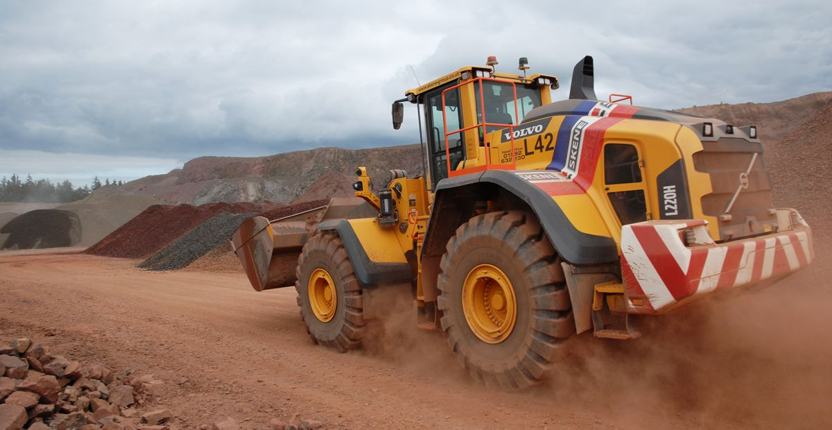 Skene Group adds another Volvo Loader to their Soutra Mains Quarry in Scotland