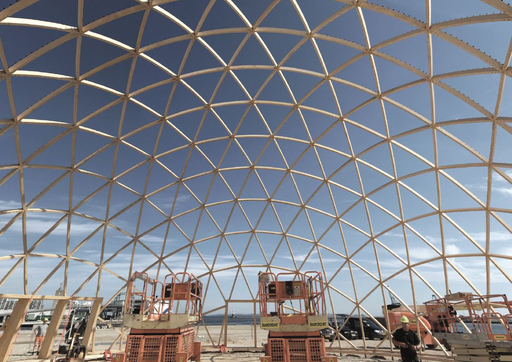 Structure of the Dome of Visions